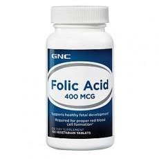 Фолиевая кислота 400 мг (100 таблеток)