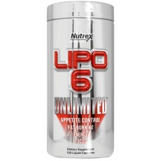 Lipo 6 UNLIMITED (120 капсул)
